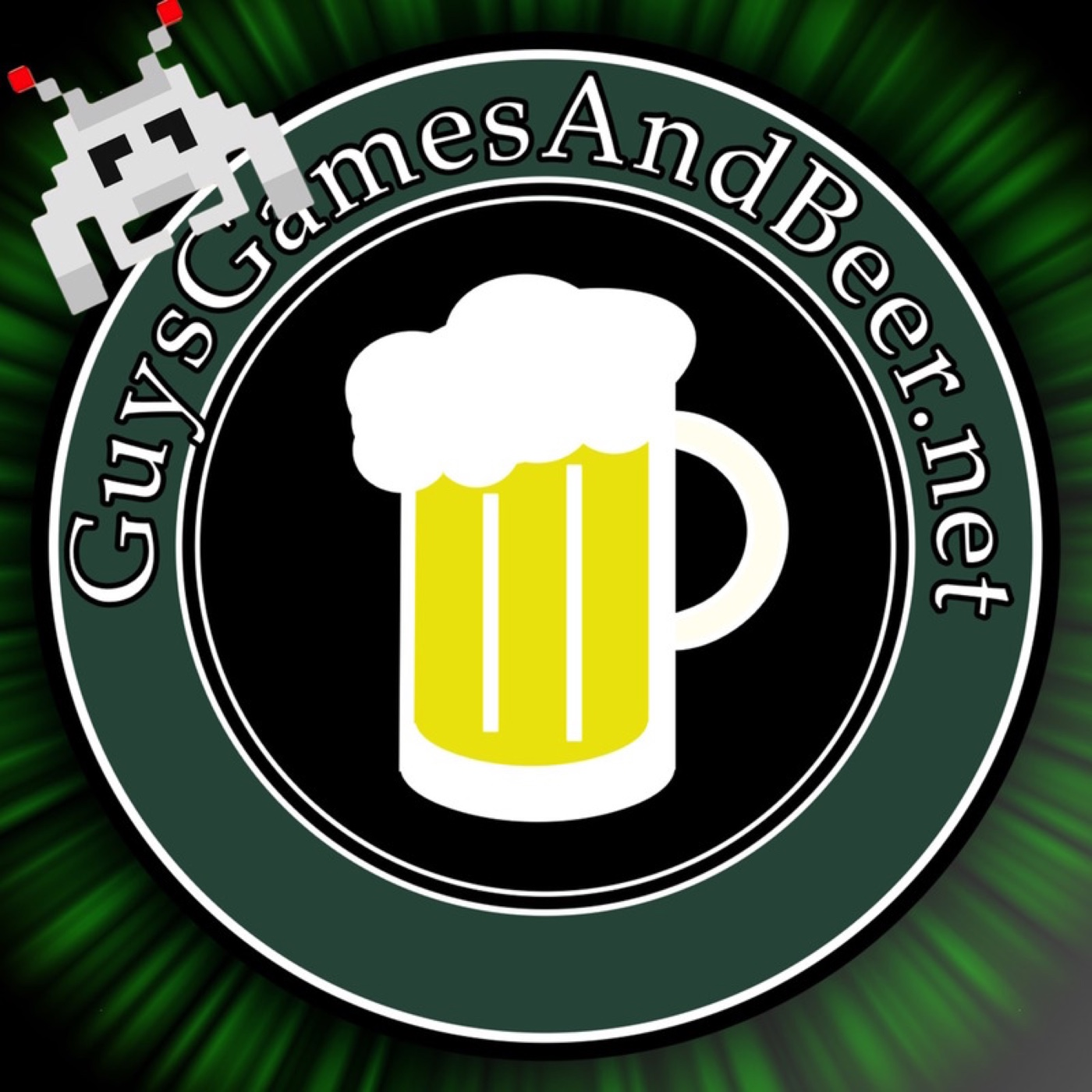 Guys Games and Beer logo