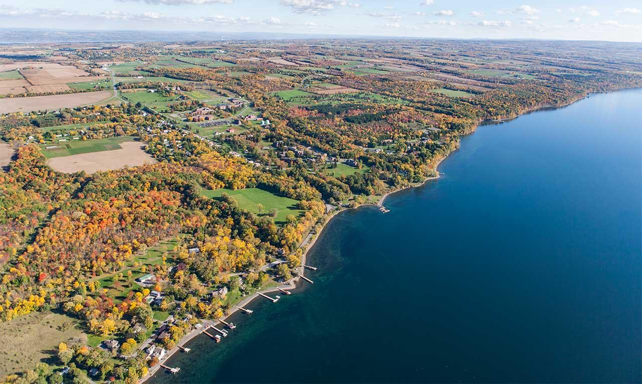 Ovid on Seneca Lake